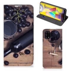 Samsung Galaxy M31 Flip Style Cover Wijn