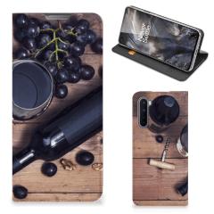 OnePlus Nord Flip Style Cover Wijn