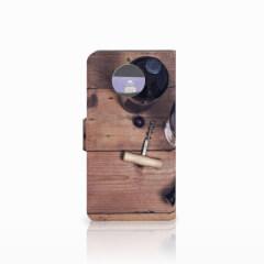 Moto G5S Book Cover Wijn