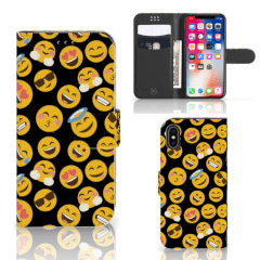 Apple iPhone X | Xs Telefoon Hoesje Emoji