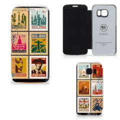 Samsung Galaxy S6 Edge Telefoonhoesje Postzegels