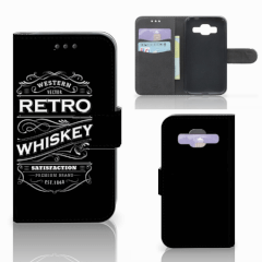 Samsung Galaxy Core Prime Book Cover Whiskey
