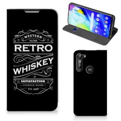 Motorola Moto G8 Power Flip Style Cover Whiskey