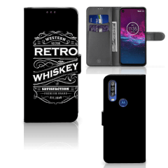 Motorola One Action Book Cover Whiskey