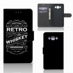 Samsung Galaxy J7 2016 Book Cover Whiskey