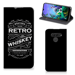 LG Q60 Flip Style Cover Whiskey