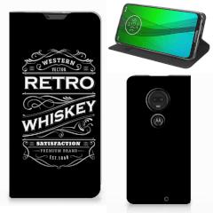 Motorola Moto G7   G7 Plus Flip Style Cover Whiskey