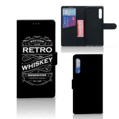 Huawei P Smart Pro Book Cover Whiskey