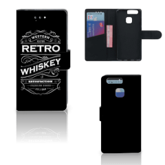 Huawei P9 Book Cover Whiskey