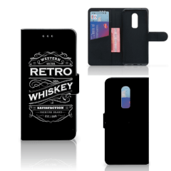 OnePlus 6 Book Cover Whiskey