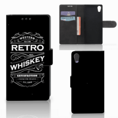 Sony Xperia XA1 Book Cover Whiskey