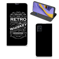 Samsung Galaxy A51 Flip Style Cover Whiskey