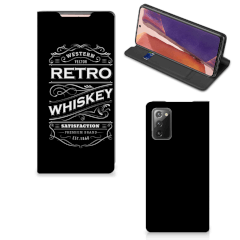 Samsung Galaxy Note20 Flip Style Cover Whiskey