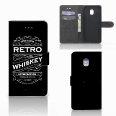 Samsung Galaxy J7 (2018) Book Cover Whiskey