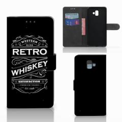 Samsung Galaxy J6 Plus (2018) Book Cover Whiskey