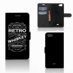 Wiko Pulp Fab 4G Book Cover Whiskey