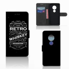 Motorola Moto E5 Book Cover Whiskey