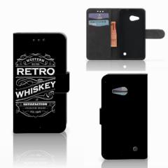 Microsoft Lumia 550 Book Cover Whiskey