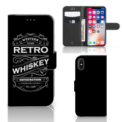 Apple iPhone X | Xs Book Cover Whiskey