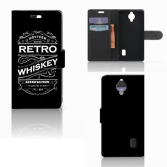 Huawei Y635 Book Cover Whiskey