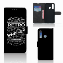 Huawei Nova 4 Book Cover Whiskey