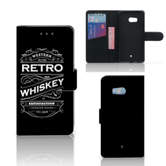 HTC U11 Book Cover Whiskey
