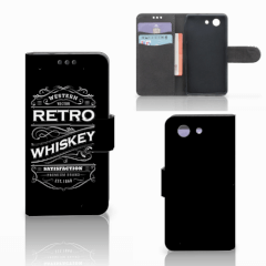Sony Xperia Z3 Compact Book Cover Whiskey