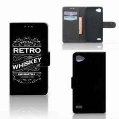 LG Q6   LG Q6 Plus Book Cover Whiskey