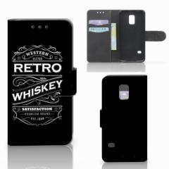 Samsung Galaxy S5 Mini Book Cover Whiskey