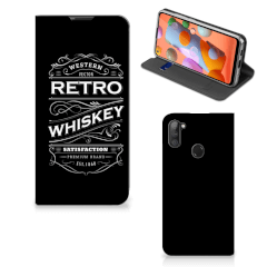 Samsung Galaxy M11   A11 Flip Style Cover Whiskey