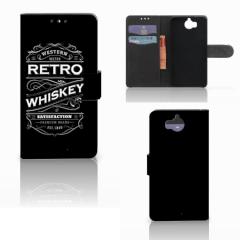 Huawei Y5 | Y6 2017 Book Cover Whiskey