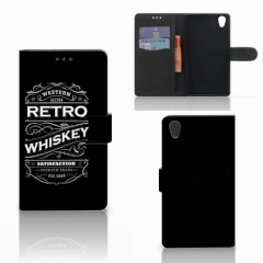 Sony Xperia L1 Book Cover Whiskey