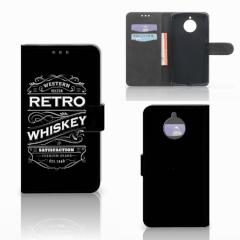 Motorola Moto E4 Plus Book Cover Whiskey