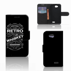 LG L90 Book Cover Whiskey