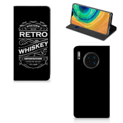 Huawei Mate 30 Flip Style Cover Whiskey