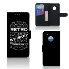 Motorola Moto G5 Plus Book Cover Whiskey