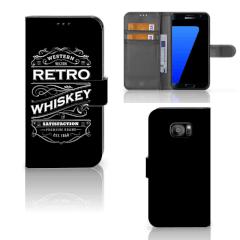 Samsung Galaxy S7 Edge Book Cover Whiskey