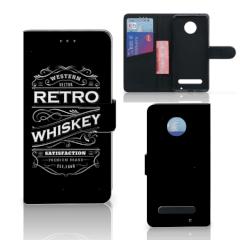 Motorola Moto Z2 Play Book Cover Whiskey