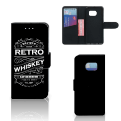 Samsung Galaxy S6 Edge Book Cover Whiskey