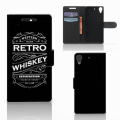 HTC Desire 628 Book Cover Whiskey