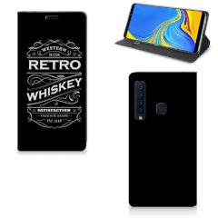 Samsung Galaxy A9 (2018) Flip Style Cover Whiskey