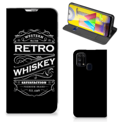 Samsung Galaxy M31 Flip Style Cover Whiskey
