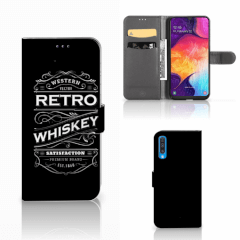 Samsung Galaxy A50 Book Cover Whiskey