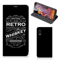 Samsung Xcover Pro Flip Style Cover Whiskey
