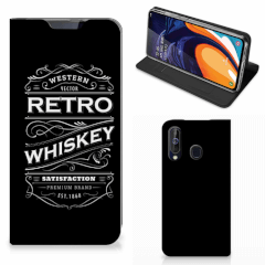 Samsung Galaxy A60 Flip Style Cover Whiskey