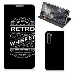 OnePlus Nord Flip Style Cover Whiskey