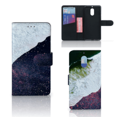 Nokia 6 Bookcase Sea in Space
