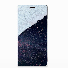 Samsung Galaxy Note 9 Stand Case Sea in Space