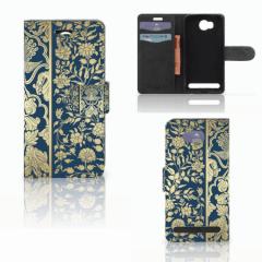 Huawei Y3 2 | Y3 II Hoesje Golden Flowers