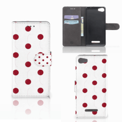 Wiko Lenny 2 Book Cover Cherries